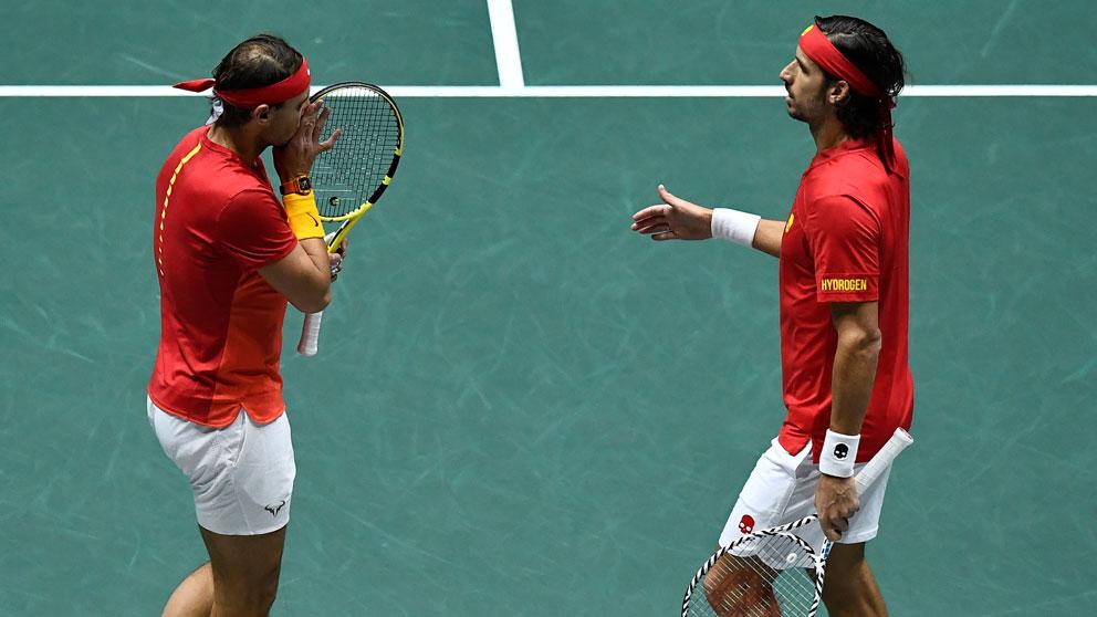 España vs Reino Unido: Partido de dobles con Rafa Nadal y Feliciano López, en directo | Copa Davis 2019