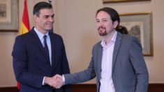 Pedro Sánchez y Pablo Iglesias (Foto: Europa Press). . Foto_ EP