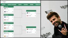 La web oficial de la Copa Davis da por eliminada a España contra Argentina.