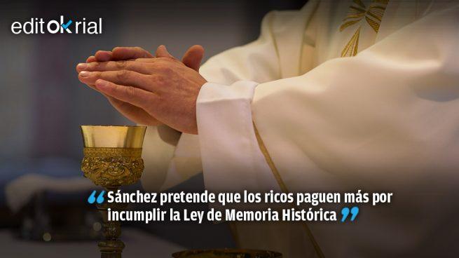 Violentar una misa costará tres veces menos que gritar ¡Viva Franco!