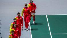 El equipo de España de Copa Davis. (EFE)