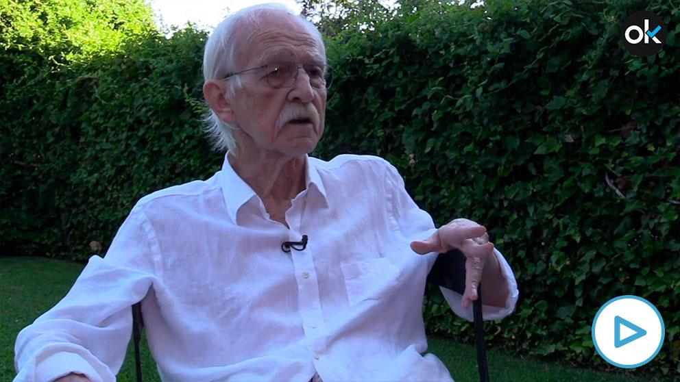 El filósofo Antonio Escohotado.