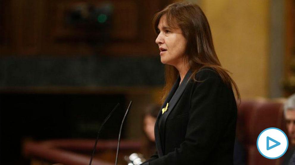 Laura Borrás, portavoz de JxCAT en el Congreso. (EP)