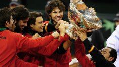 Así queda el palmarés de la Copa Davis tras la victoria de España. (AFP)