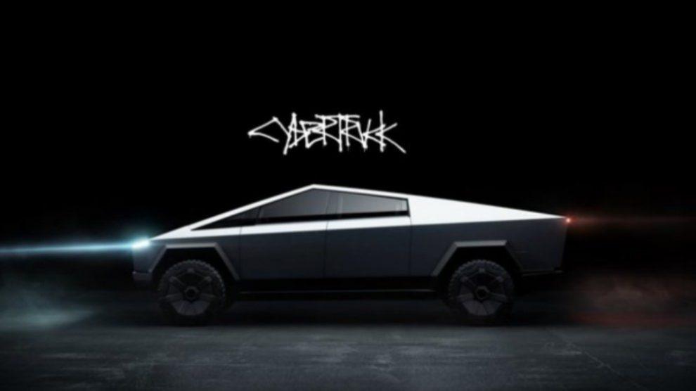 El nuevo Tesla Cybertruck. (Tesla)