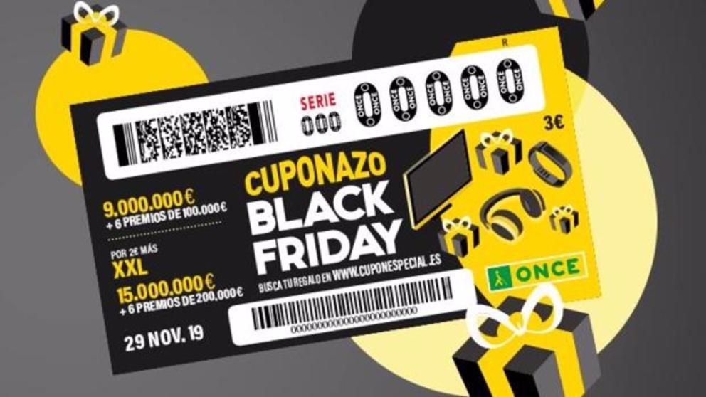 Fecha del sorteo del Cuponazo del Black Friday de la ONCE