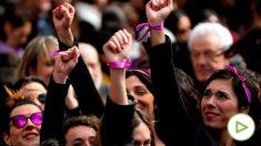 Manifestación feminista del 8M.
