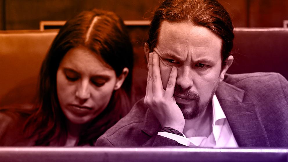 Pablo Iglesias e Irene Montero, líderes de Podemos.