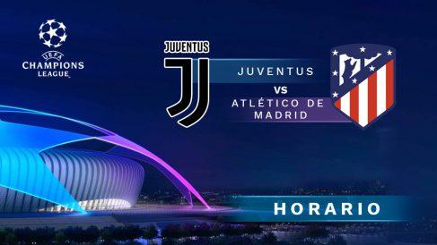 Champions League 2019-20: Juventus – Atlético| Horario del partido de fútbol de Champions League.