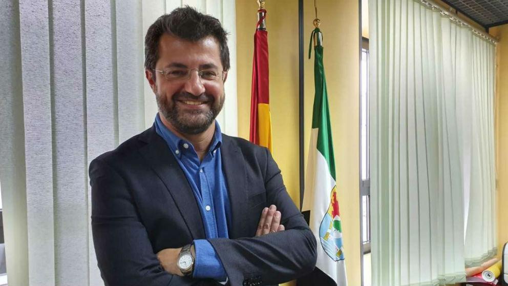 Jesús Seco, director general de Políticas Activas de Empleo de la Junta de Extremadura.