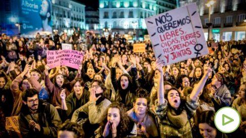 Huelga feminista del 8 de Marzo (Foto: Hacialahuelgafeminista)