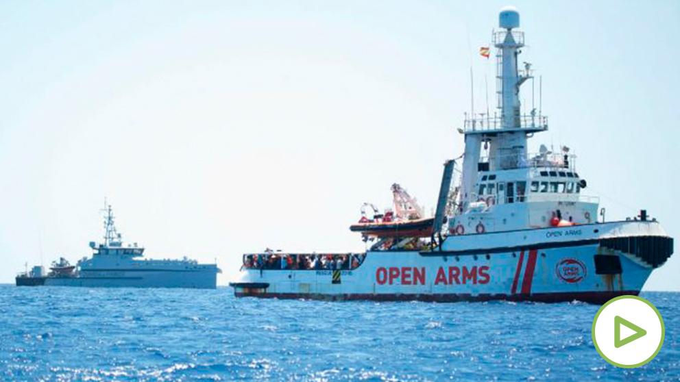 El buque 'Open Arms'.