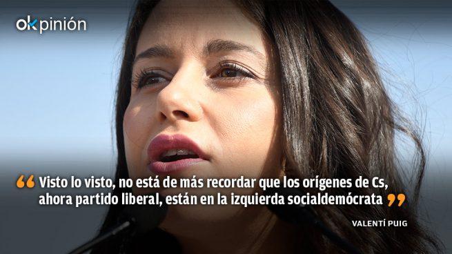¿Tiene agenda Inés Arrimadas?
