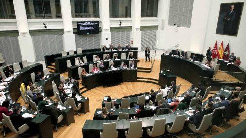 Pleno de Ayuntamiento de Madrid. (Ep)