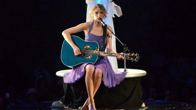Taylor Swift ha sido la auténtica estrella de los AMAs, al quedarse con cinco galardones.