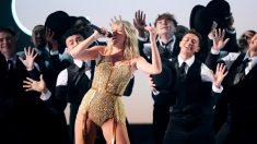 Taylor Swift en los American Music Awards 2019.