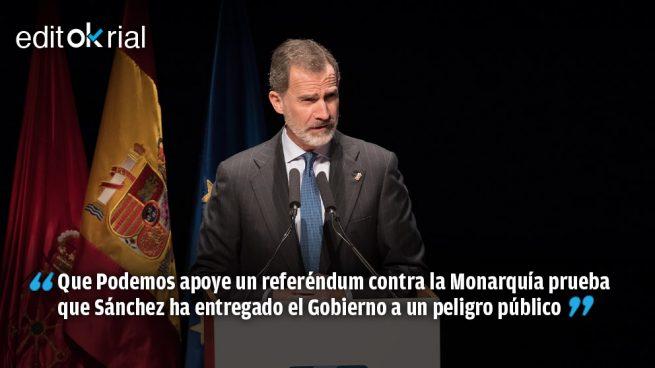Sánchez alienta el sueño de Iglesias de instaurar la III República
