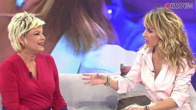 Emma García se encara a Terelu Campos: Este fue su tirón de orejas en directo