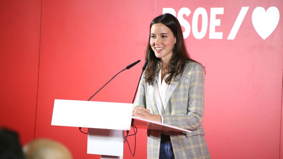 Andrea Fernández, diputada del PSOE por León en el Congreso.