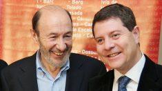 Alfredo Pérez Rubalcaba y Emiliano García-Page
