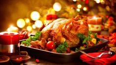 El pavo es la gran estrella del menú de Acción de Gracias