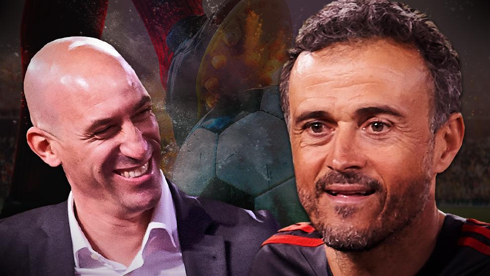 Luis Enrique y Rubiales tienen muy buena sintonía.