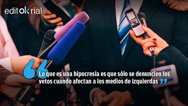 No hay que vetar a los periodistas de El País ni a los de OKDIARIO