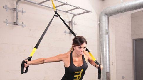 El TRX es un entrenamiento en suspensión muy intenso y beneficioso