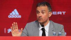 Luis Enrique en rueda de prensa. (EFE)