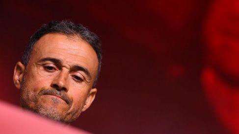 Luis Enrique, durante su presentación como seleccionador español. (AFP)