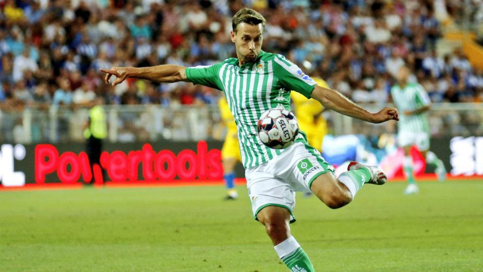 Sergio Canales con el Real Betis (@SergioCanales)