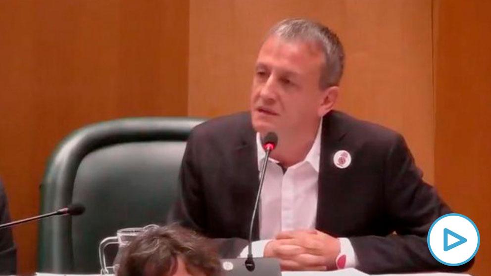 Fernando Rivarés, portavoz de Podemos en el Ayuntamiento de Zaragoza.