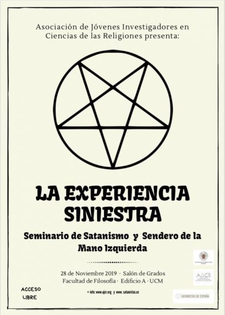 cartel-experiencia-siniestra-satanismo-complutense