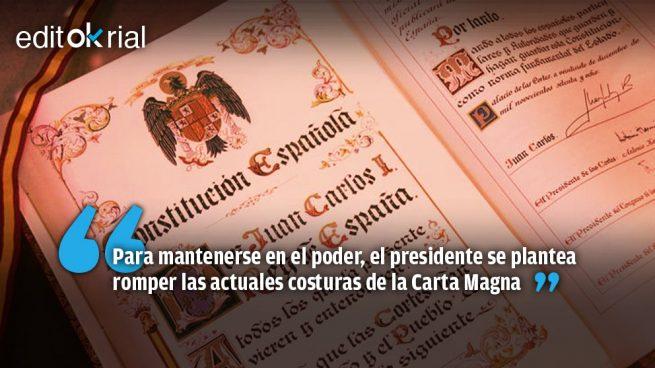 Sánchez le hará un traje a la Constitución a medida de los separatistas