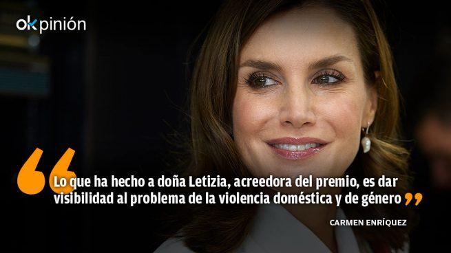 La rotunda defensa de la Reina Letizia de las mujeres víctimas de la violencia de género