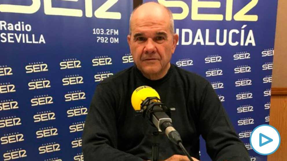 Manuel Chaves durante la entrevista. Foto: EP