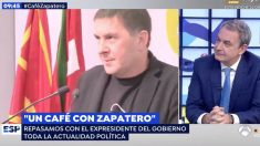 La entrevista de José Luis Rodríguez Zapatero en 'Espejo Público'.