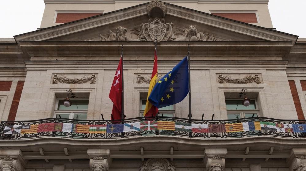 Fachada de la Real Casa de Correos, sede del Gobierno regional. (Foto. EP)