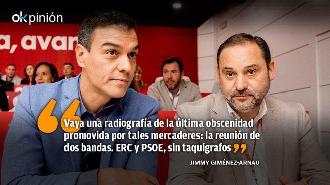 Ábalos y Sánchez, voceadores de feria