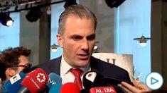 Javier Ortega Smith, portavoz de Vox en el Ayuntamiento de Madrid