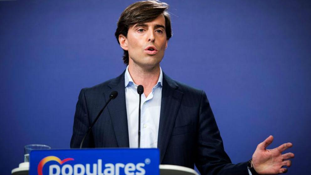 Pablo Montesinos, vicesecretario de Comunicación del PP.