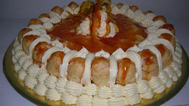 Tarta frarncesa Saint Honoré