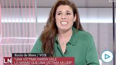 La diputada de Vox Rocío Meer.
