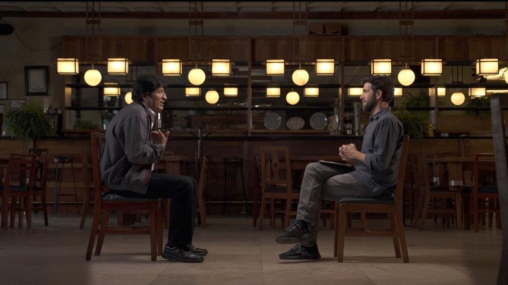Gonzo entrevista a Evo Morales para 'Salvados'
