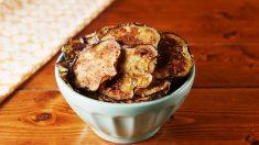 Los chips de hortalizas son una opción totalmente saludable y muy deliciosa