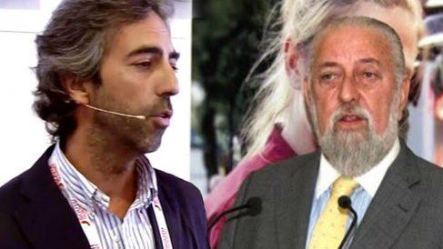 Álvaro Curiel y el ex presidente de Mercasa Eduardo Ameijide.