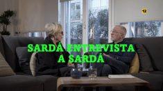 Xavier Sardá y su hermana, María José Sardá en 'laSexta Noche'
