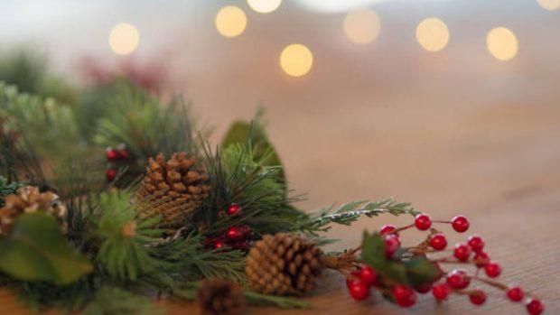 Navidad 2019: Cómo decorar el árbol con piñas naturales