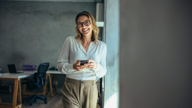 Mujeres emprendedora y autónoma @Istock