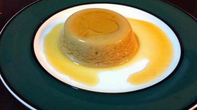 Flan de huevo sin gluten ni lactosa